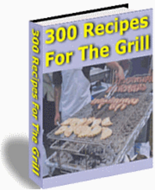Product picture 300 Recipes for the Grill